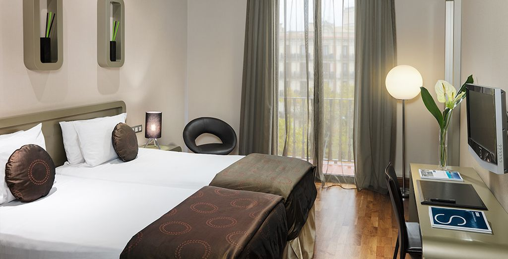 Then make your way to your comfortable, cool & welcoming Standard Room