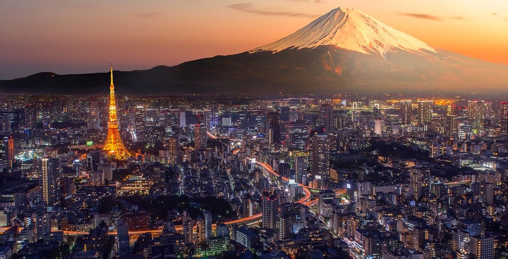 Start your trip in Tokyo, one of the world's most technologically advanced cities...
