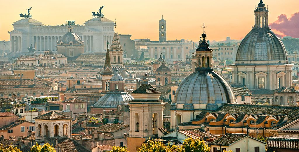 The perfect place from which to discover Rome
