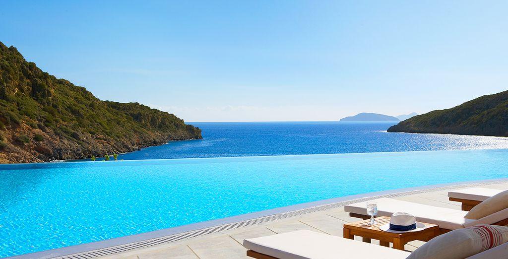 The most privileged location in Crete....