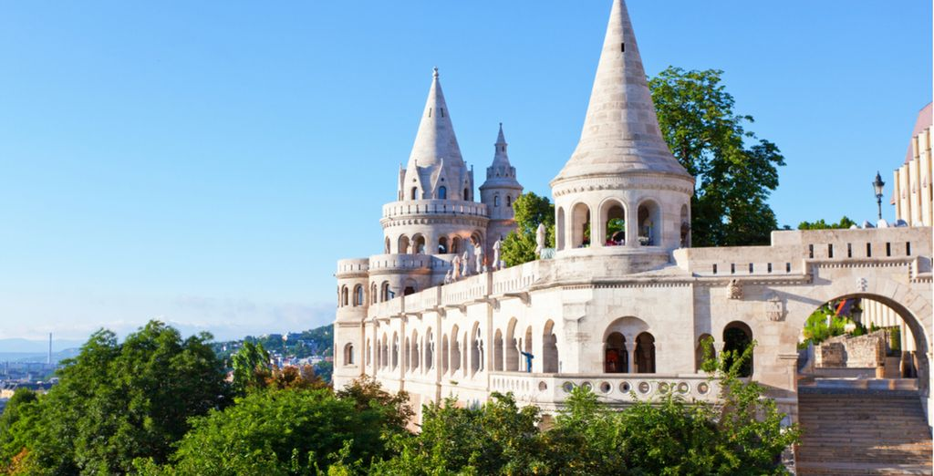 Climb the hill to Buda Castle, for fantastic views