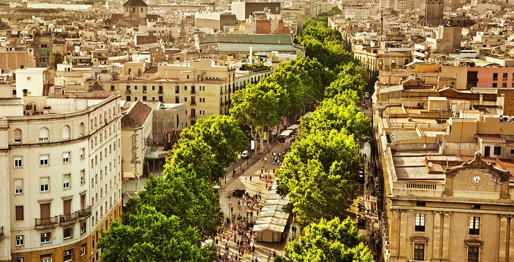 And you can walk to Las Ramblas in 10 minutes  too