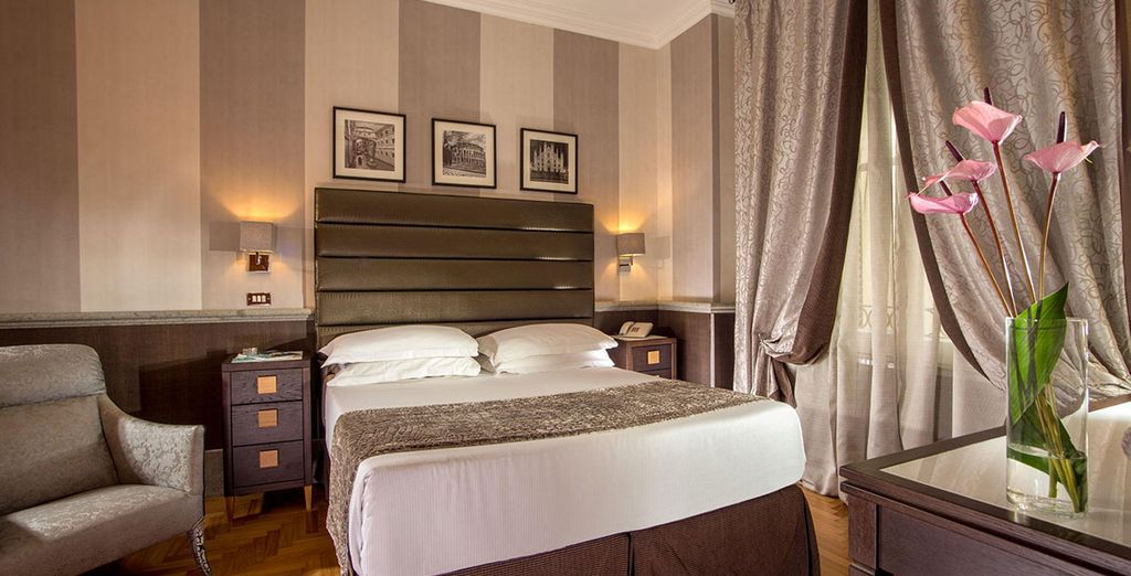 Enjoy sumptuous style in the heart of Rome