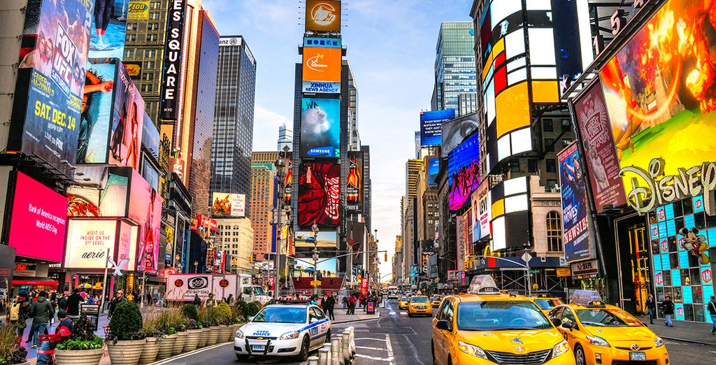 The buzz of New York is waiting for you..