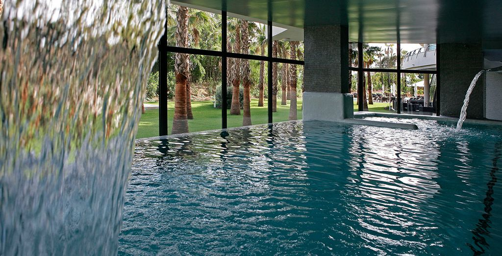 With a luxury indoor pool and a range of treatments on offer