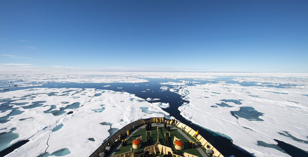 Where you will head out to a 2hours icebreaker excursion in Lulea