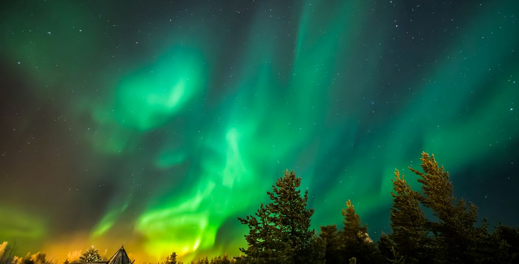 Add an optional Northern Light Excursion in Lapland