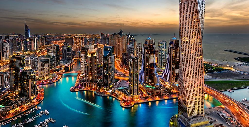 And experience the lively and dynamic Dubai in the Jumeirah Lakes Towers neighbourhood