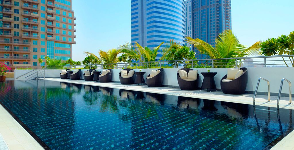 Stay at Movenpick Jumeirah Lakes Towers 5*