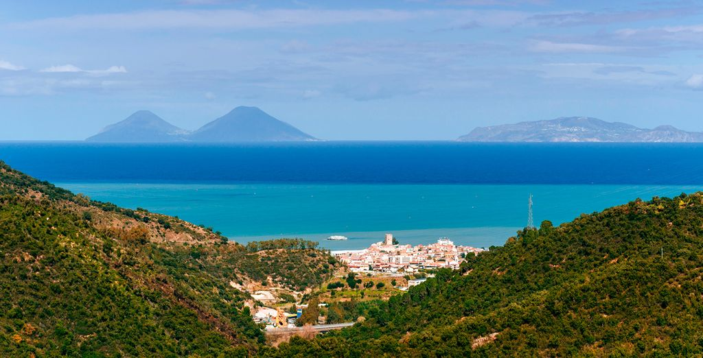 Visit the amazing Aeolian Islands, just offshore