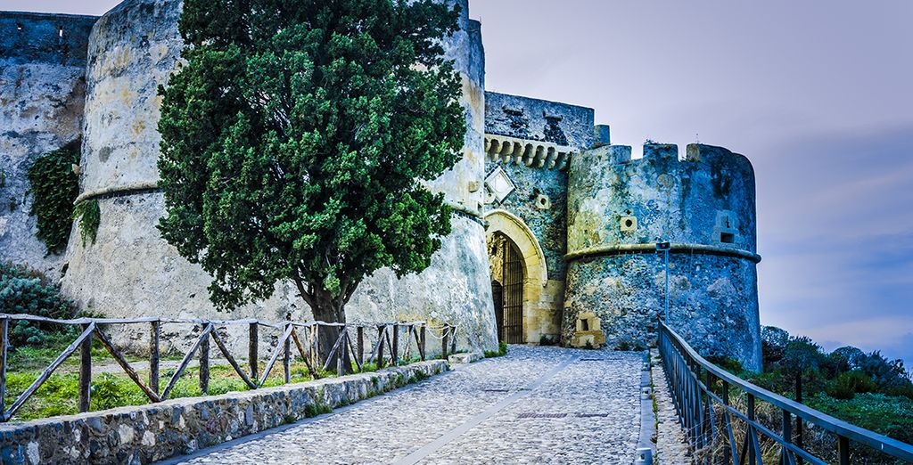 And don't miss Milazzo's impressive castle (40 km)