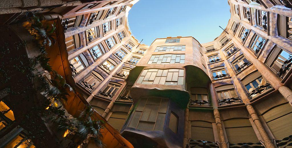 Including Gaudi's La Pedrera