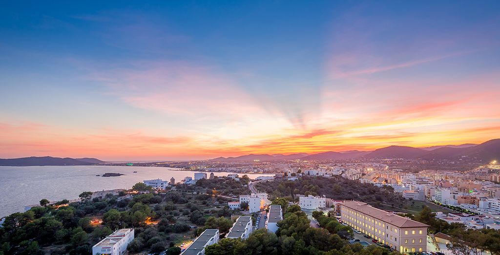 And climb the steep steps to the fortress for incredible sunset view