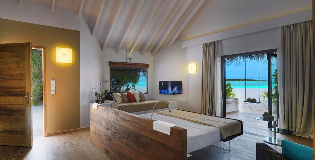 Or a luxurious Beach Suite