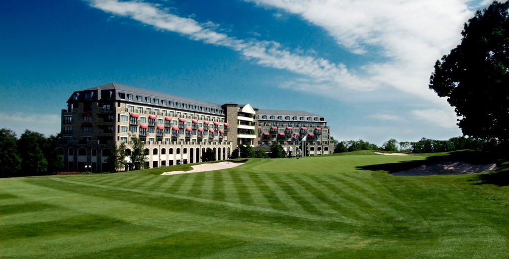 At the 5* Celtic Manor Resort