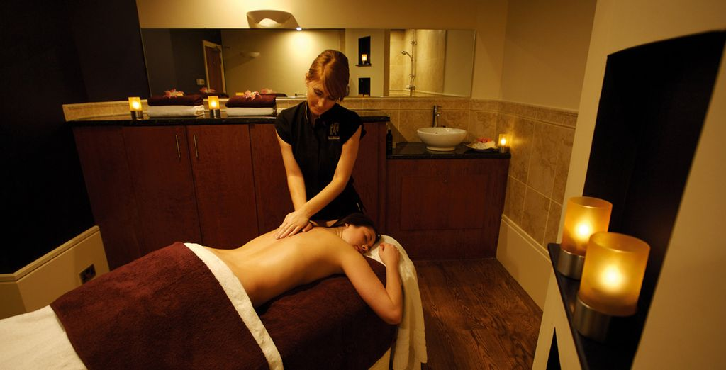 Or unwind with a relaxing massage