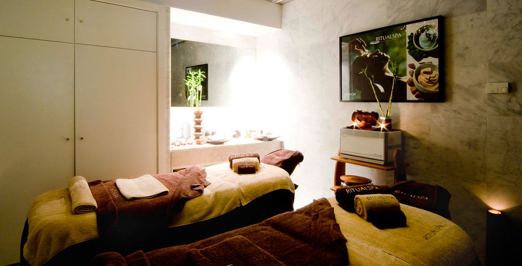 Where you can indulge in a calming treatment