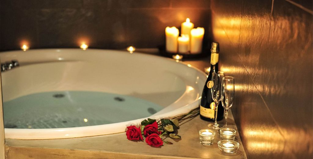 For an indulgent spa session