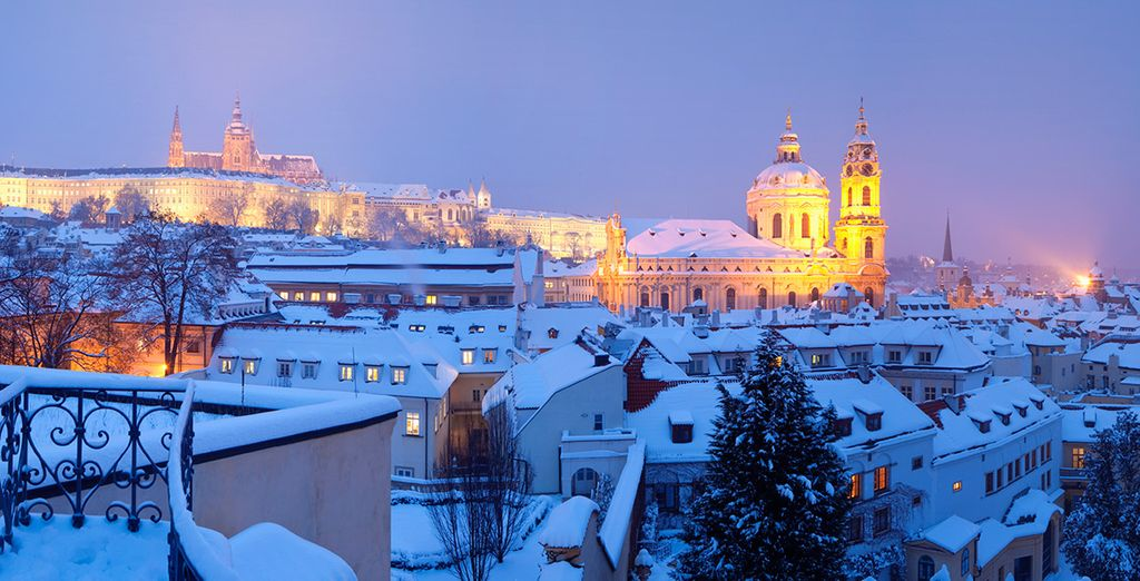The city is especially magical in Winter