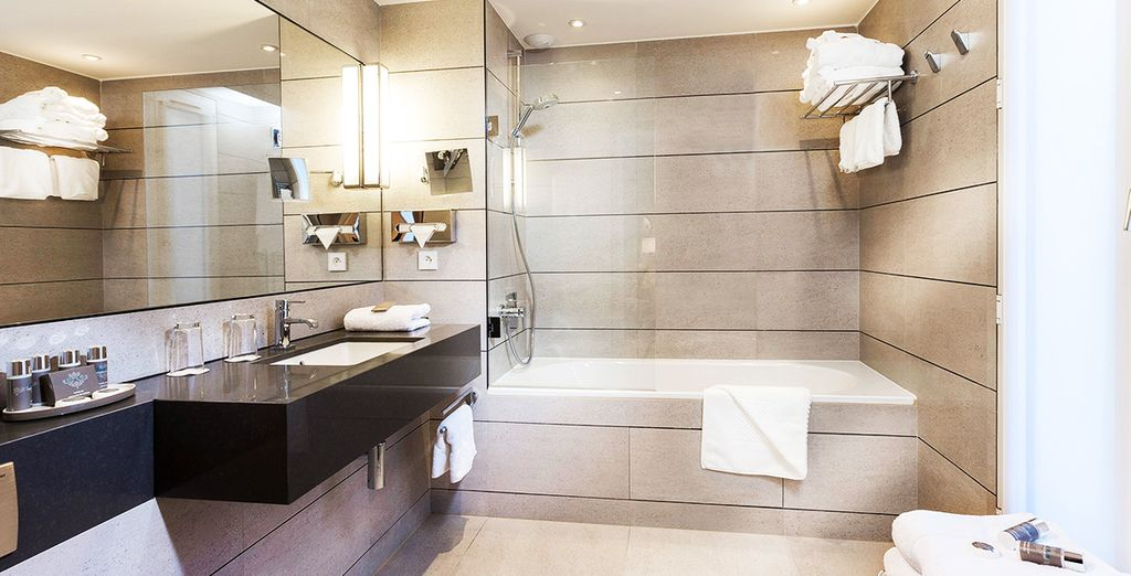 Complete with a sleek and stylish ensuite