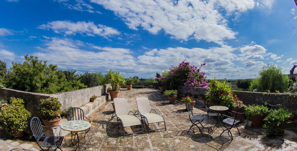Book a break at Masseria Baroni Nuovi