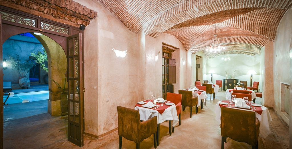 Return to your riad for dinner