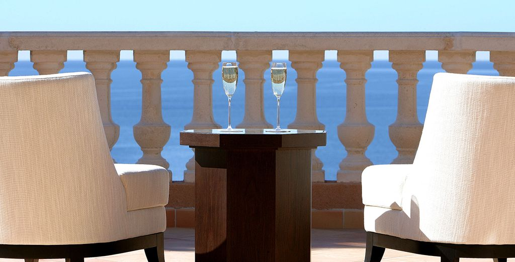 Enjoy simple elegance and striking sea views