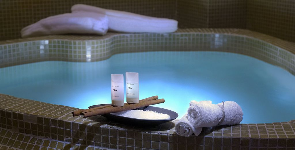 Check out the spa - why not indulge in a massage?