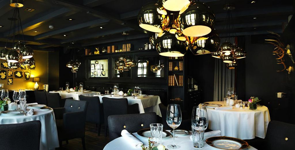 Feast on authentic flavours in the gourmet restaurant