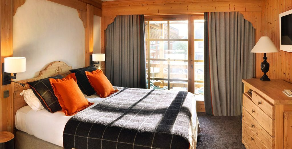 Choose from a Premier Room