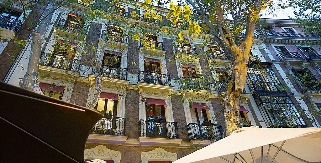 Hotel hospes puerta de alcal 5 voyage priv up to 70 - Hotel hospes puerta de alcala ...