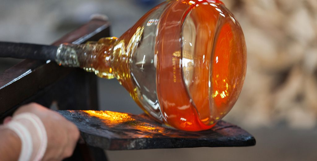 Where you can watch the famous glass artisans at work