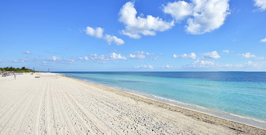 Next we will whisk you away to the beaches of Varadero...