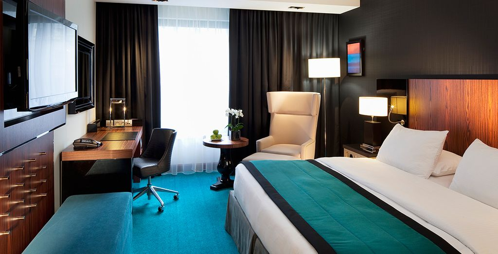 While staying at The Radisson Blu Royal, Brussels