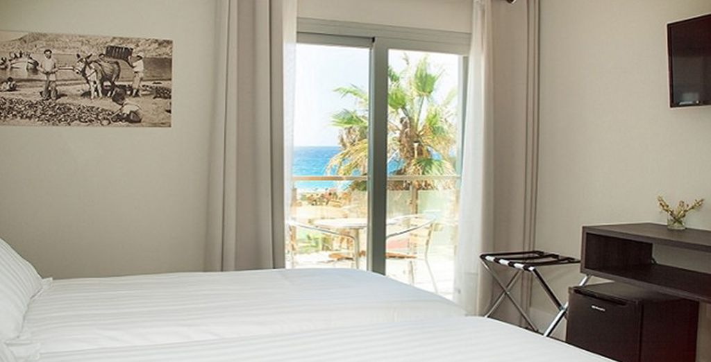 Or a sea view room