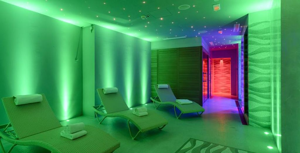 There is also a serene Spa & Wellness area