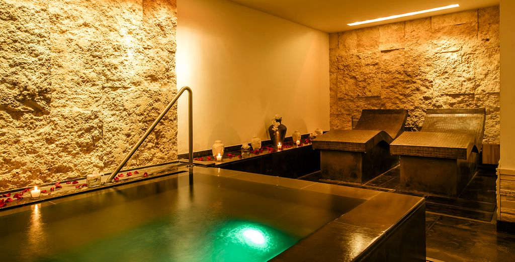 Or indulge at the fabulous hotel spa