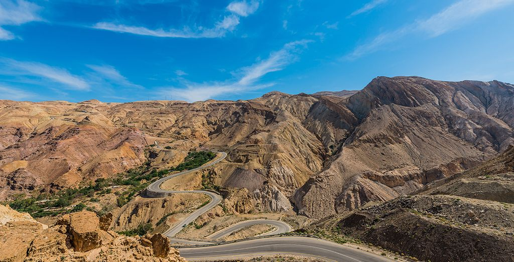 Drive along the 2000-year-old Kings Highway