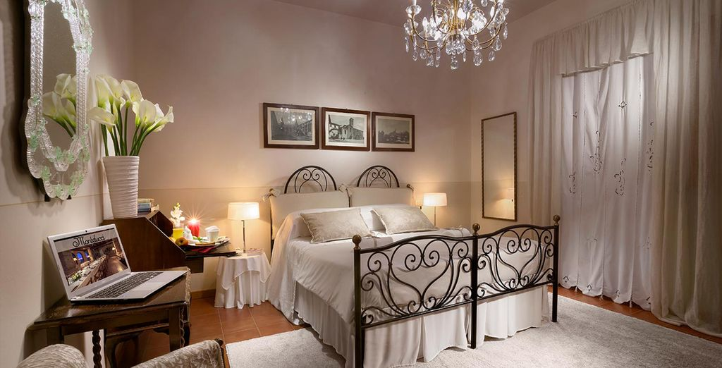 Sleep in a homely and comfortable Superior Room