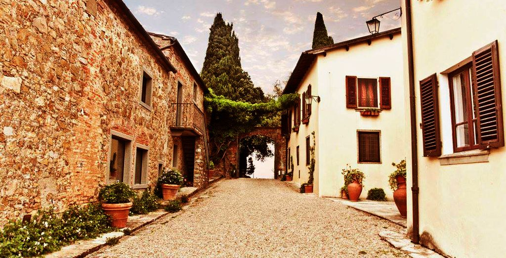 The streets of Italy echo with their amazing history