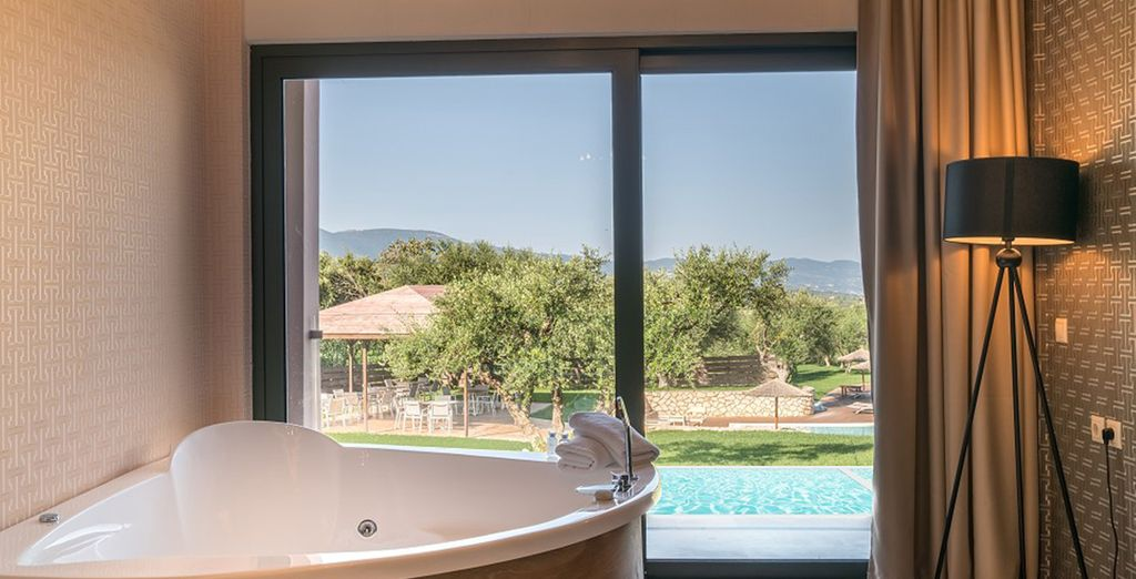 Or opt for a Superior Suite Private Pool