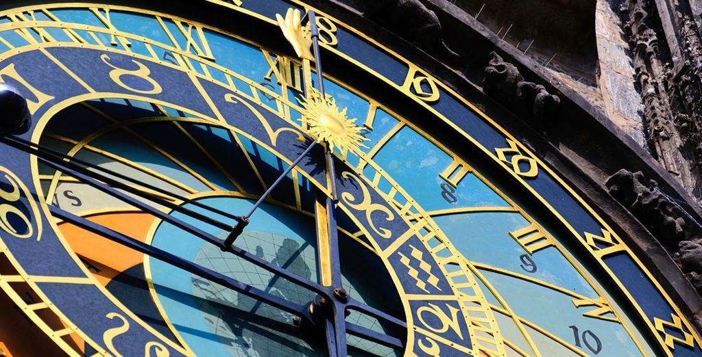 And landmarks such as the astronomical clock