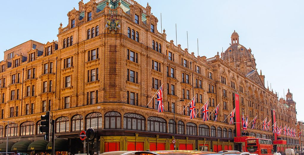 Some of the most famous shops in the world are within easy reach