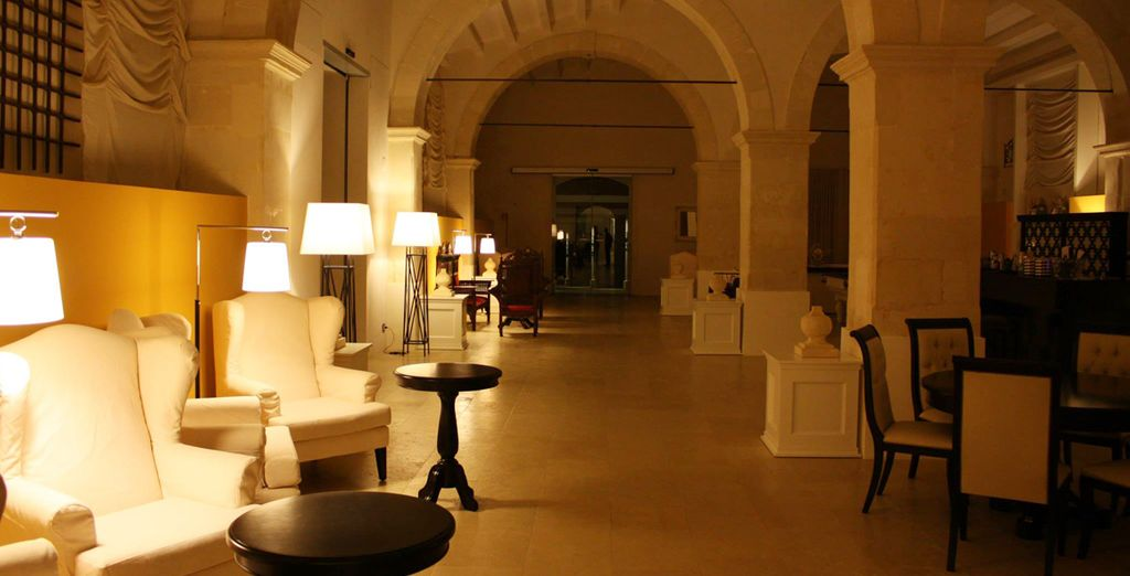 With the charming traditional features of a Roman Villa