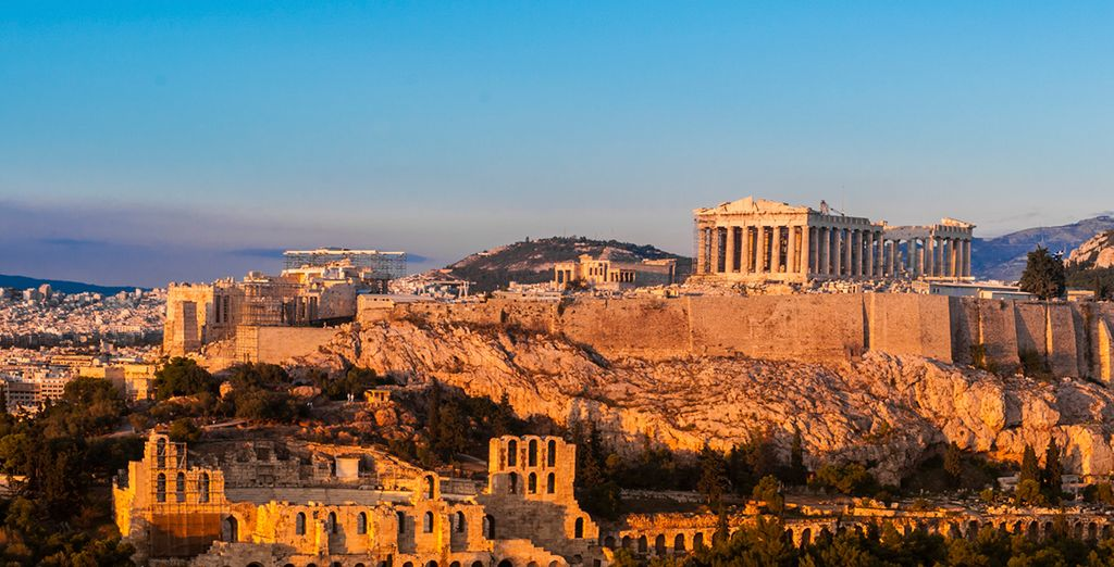From the ancient history in Greece's captivating capital....