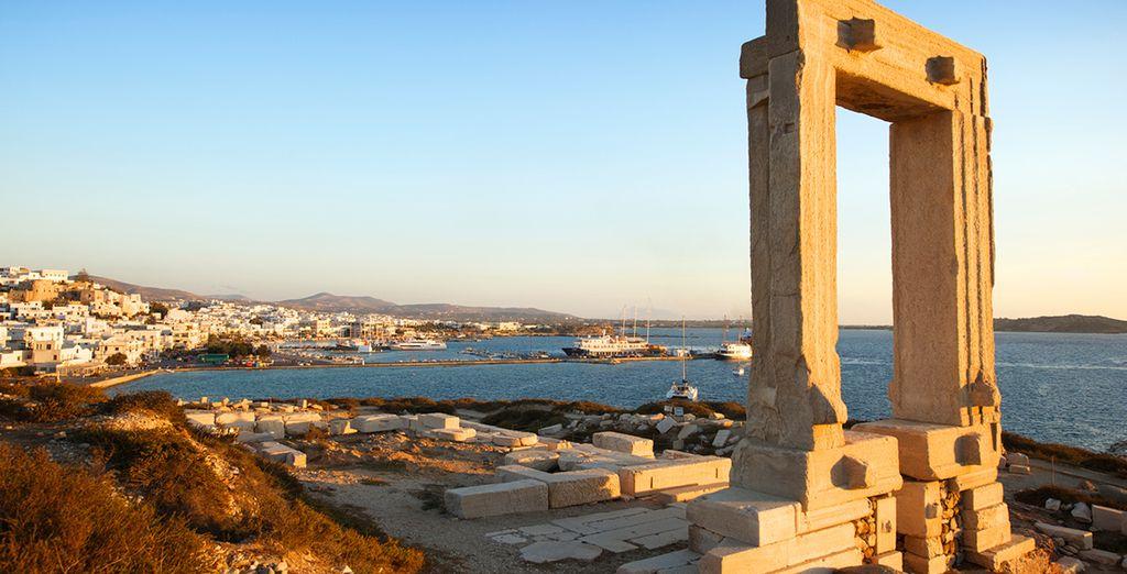 The Temple of Apollo in Naxos