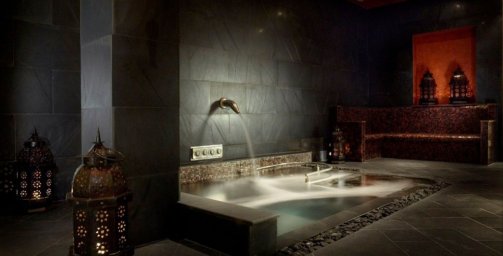 Feel completely serene at the spa