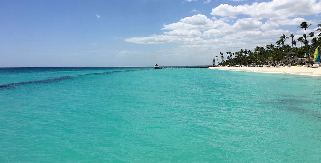 Explore the pretty seaside town of Bayahibe...
