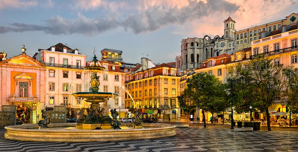 This is the enchanting city of Lisbon