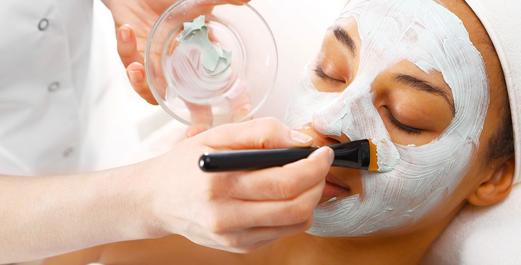 Relax with a beauty treatment